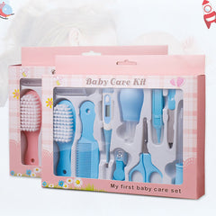 10Pcs Set Baby Health Care Set Portable Newborn Baby Grooming Kit