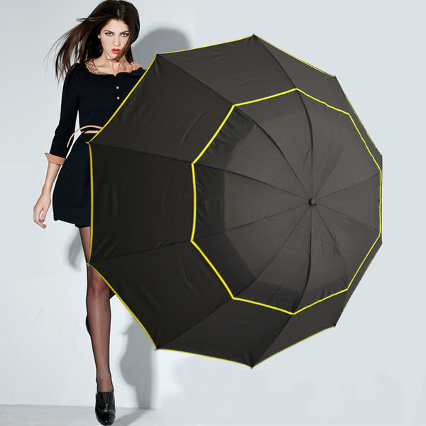 Large Top Quality Umbrella Rain & Windproof For Men and Women