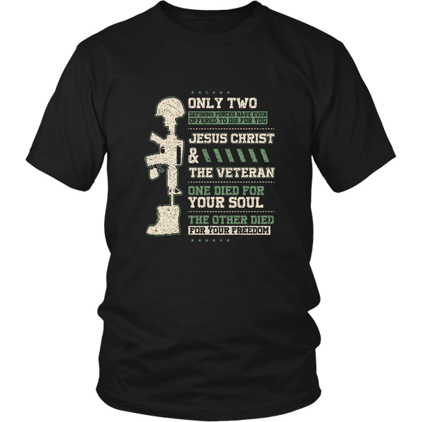 Only Two Offered To Die For You - District Unisex Shirt