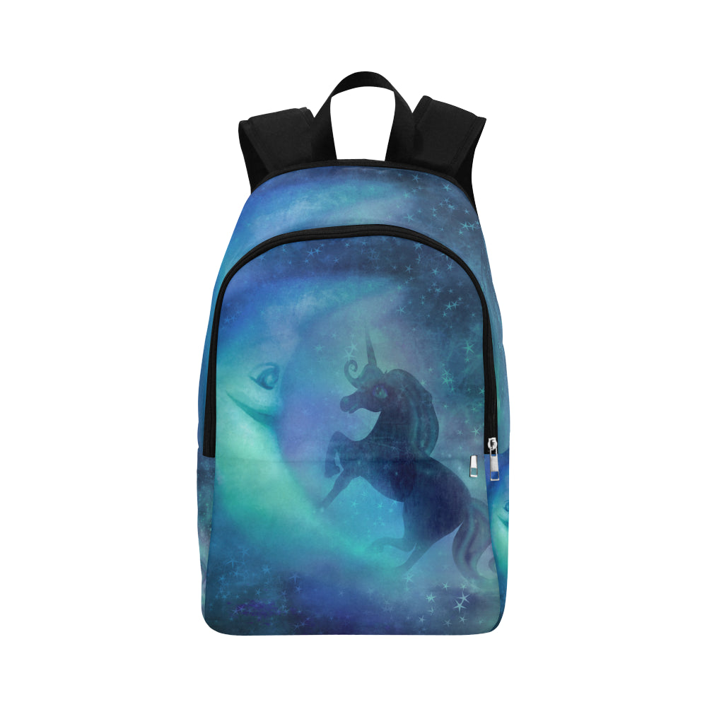 unicorn Fabric Backpack for Adult (Model 1659)