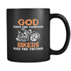 Bikers Make The Thunder - 11 oz Black Coffee Mug
