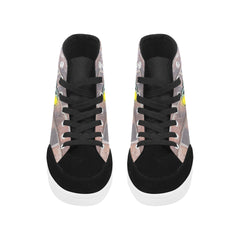 Car Custom Design High Top Shoes For Women