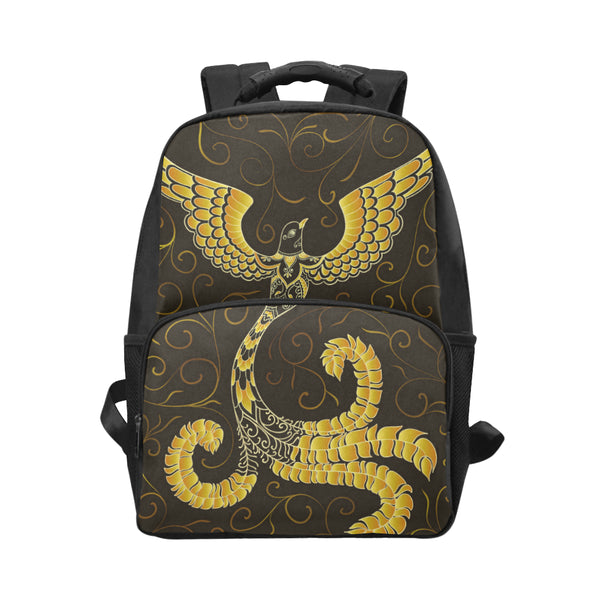 Golden Doodle Bird Unisex Laptop Backpack