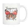 Happiness Is A Butterfly White Coffee Mug