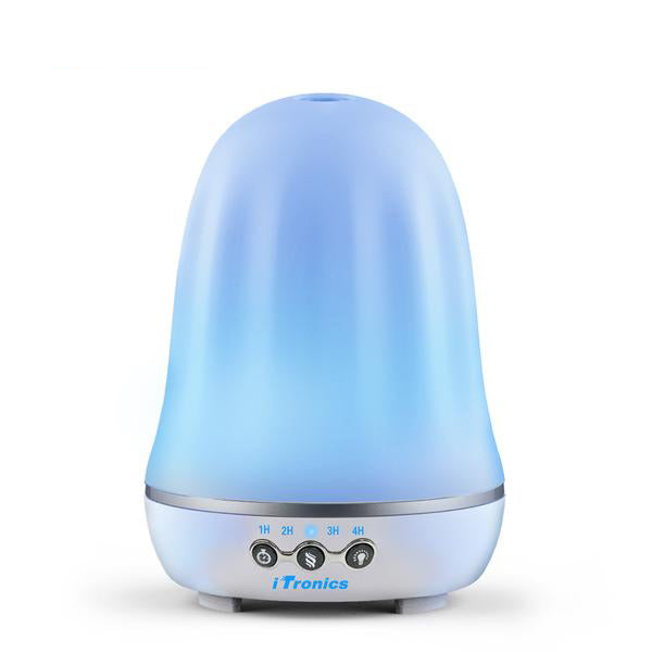 Aroma Essential Oil Diffuser Ultrasonic Air Humidifier with 7 Color Changing LED Lights for Office Home