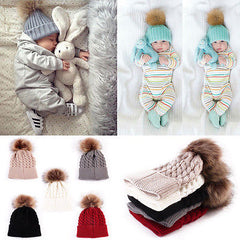 Cute Knitted Caps For Baby Toddler & Kids