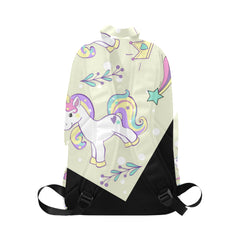 unicorn pop art Fabric Backpack for Adult (Model 1659)