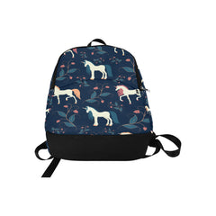 sleeping unicorns Fabric Backpack for Adult (Model 1659)