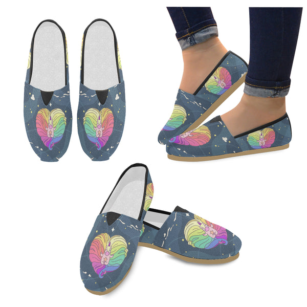 Unicorns Time Women's Casual Shoes (Model 004)