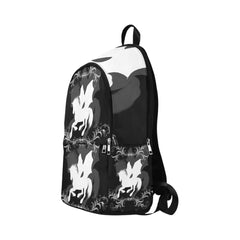 Wonderful white unicorn Fabric Backpack for Adult (Model 1659)