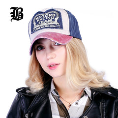 Good Looking Multicolor Fitted Cotton Baseball Cap For Men and Women