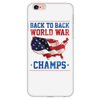 Back To Back World Champs - White Iphone 6 Plus/ 6s Plus Phone Case FREE SHIPPING