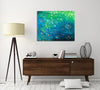Chiara-Magni,Coastal,Modern & Contemporary,Nautical & Beach,Finger-paint,coastal,blue,green,circle,black,white,red,