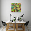 Iris-Scott,Modern & Contemporary,Floral & Botanical,cactus,cacti,green,thorny,thorns,succulent,succulents,green,orange,