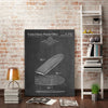 Cole-Borders,Modern & Contemporary,Sports & Sports teams,surfboard,surfboards,boards,sports,patented,blueprint,words and phrases,drawing,sketches,Charcoal Gray,Blue,Sky Blue,White,Black