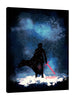 Ludwig-Van-Bacon,Vertical,3X4,Modern & Contemporary,Entertainment,Fantasy & Sci-Fi,People,people,person,man,ben,figure,entertainment,sci fi,light saber,light sabers,galaxy,galaxies,stars,star,silhoutte,silhouttes,men,sword,swords,white,Red,Slate Gray,Blue,Charcoal Gray,Gray,Black
