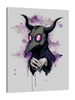 Ludwig-Van-Bacon,Vertical,3X4,Modern & Contemporary,People,Fantasy & Sci-Fi,Entertainment,plague,plague doctor,masks,mask,drips,drip,paint drip,paint drips,circle,circles,violet,pink,Mist Gray,Rose Red,Black,Gray
