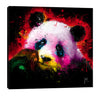 Patrice-Murciano,Modern & Contemporary,Animals,panda,animals,animal,pandas,splatters,paint drips,lines,scribbles,Red,Purple,Gray,Charcoal Gray,Blue,Sky Blue,Black