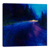Iris-Scott,Modern & Contemporary,Landscape & Nature,cobalt blut,blue,road,lights,trees,blurry,forests,