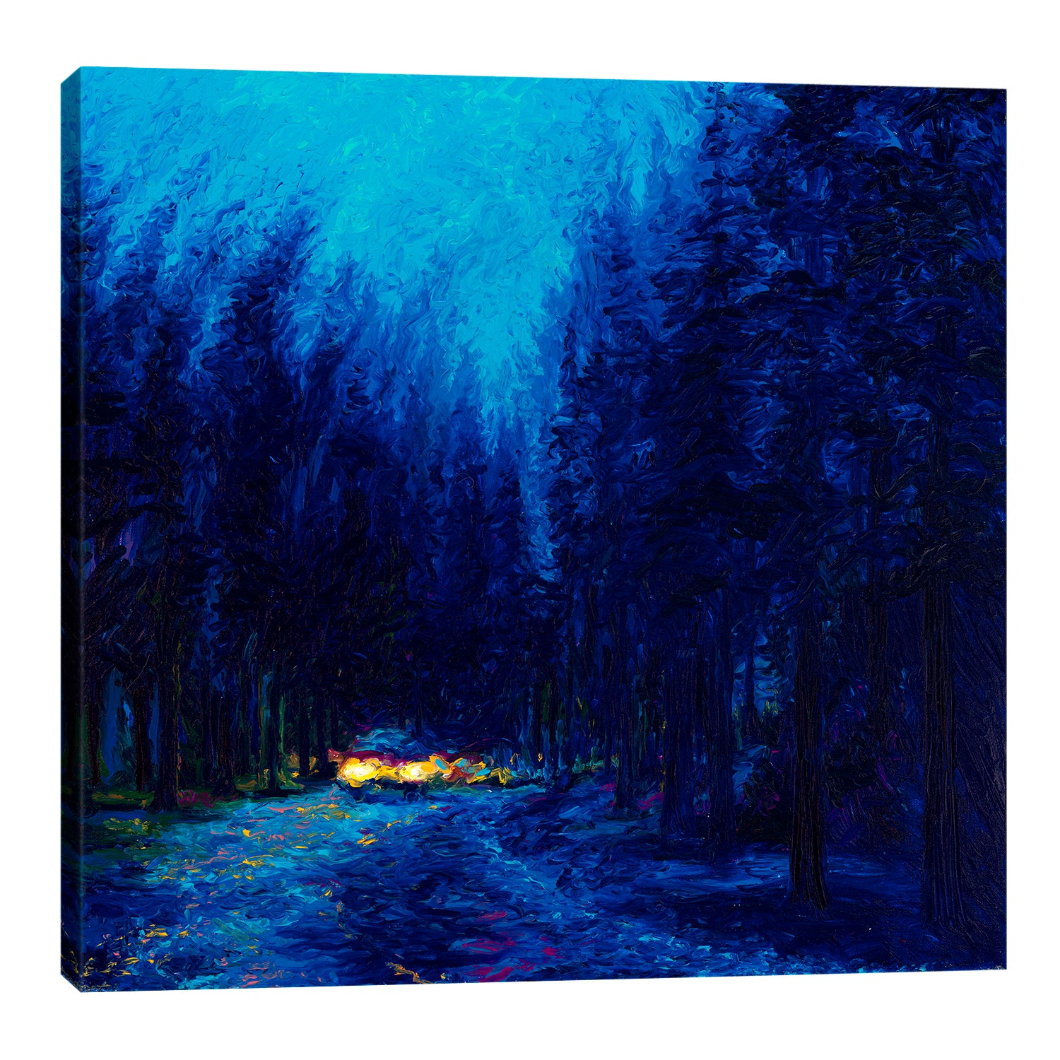 Iris-Scott,Modern & Contemporary,Landscape & Nature,lights,trees,forests,cars,automotive,