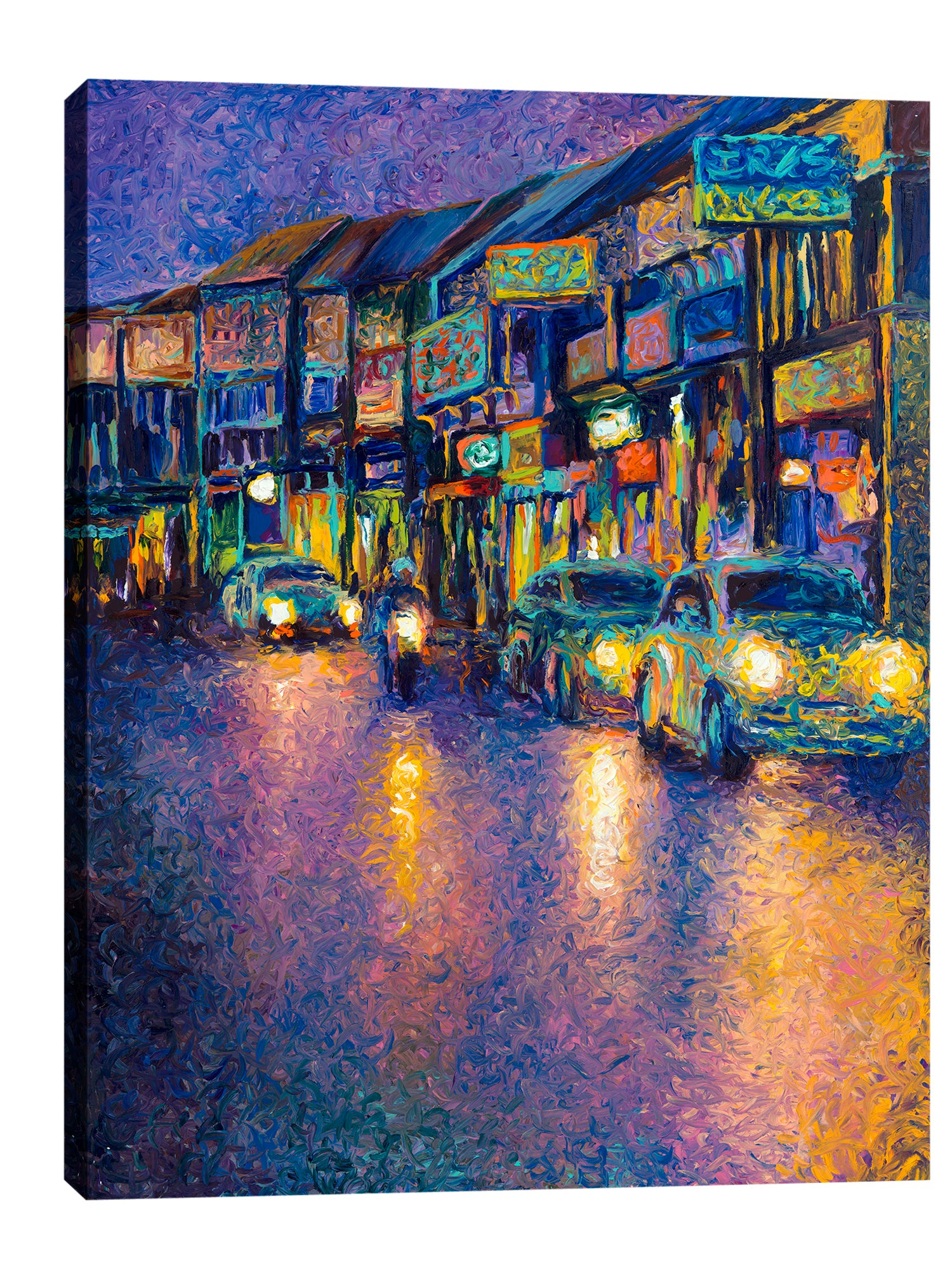 Iris-Scott,Modern & Contemporary,Buildings & Cityscapes,cars,lights,motors,buildings,streets,roads,