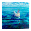 Iris-Scott,Modern & Contemporary,Animals,chicken,hen,clouds,skies,water,seas,coastal,