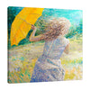 Iris-Scott,Modern & Contemporary,People,woman,dress,umbrella,brush strokes,