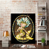 Pearl Diver Mermaid Pinup - Retro Mermaid Pinup Girl