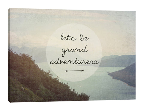 Let's Be Grand Adventurers