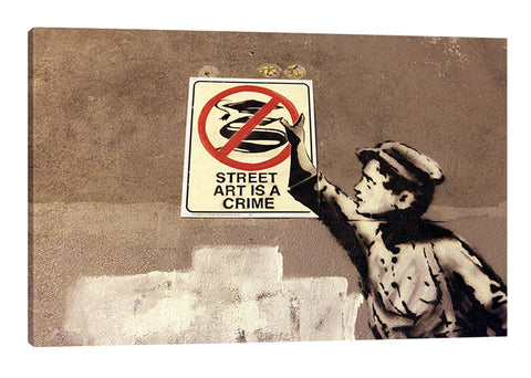 Street Art Is A Crime