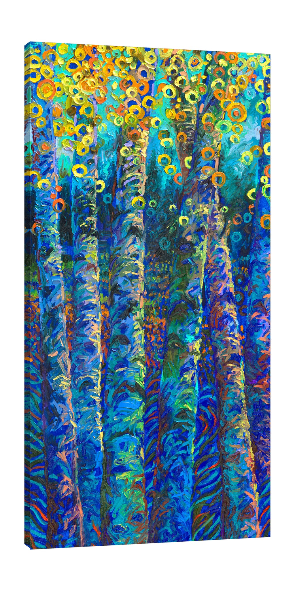 Iris-Scott,Modern & Contemporary,Landscape & Nature,florals,flowers,forests,botanical,leaves,