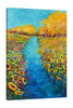 Iris-Scott,Modern & Contemporary,Floral & Botanical,florals,flowers,sunflowers,skies,clouds,botanical,coastal,