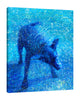 Iris-Scott,Modern & Contemporary,Animals,Impressionism,shaking dog,finger paint,