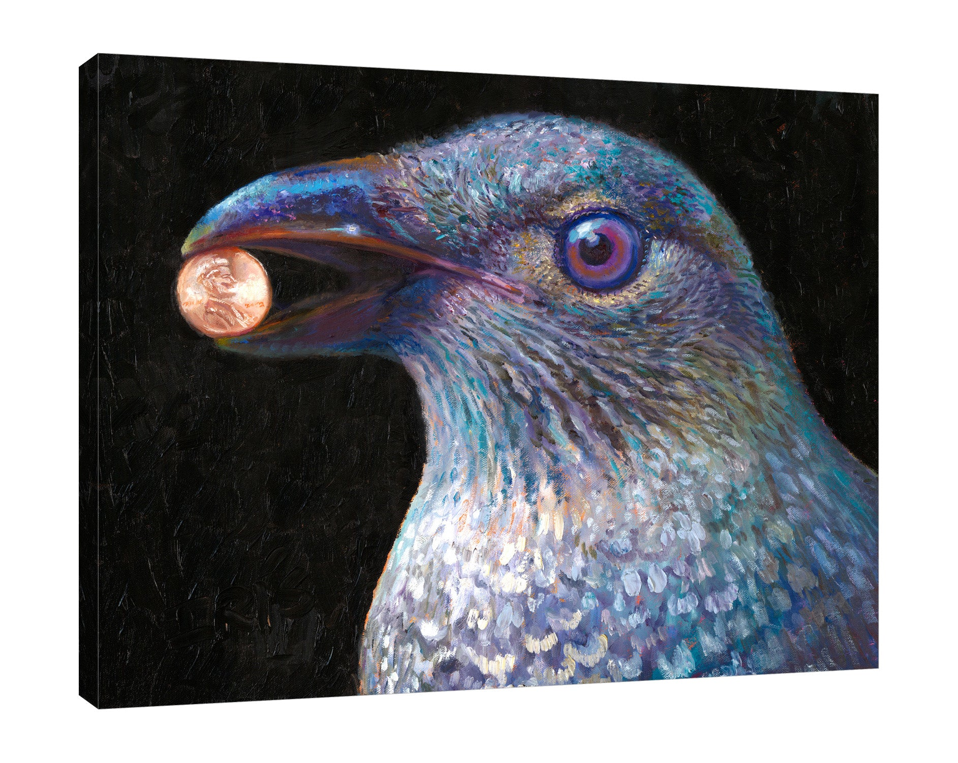 Iris-Scott,Modern & Contemporary,Animals,Impressionism,surreal,finger paint,animal,nature,birds,