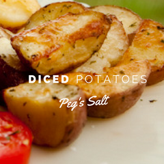 Peg's Salt Dices Potatoes