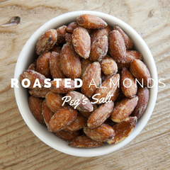 Peg's Salt Roasted Almond Recipe