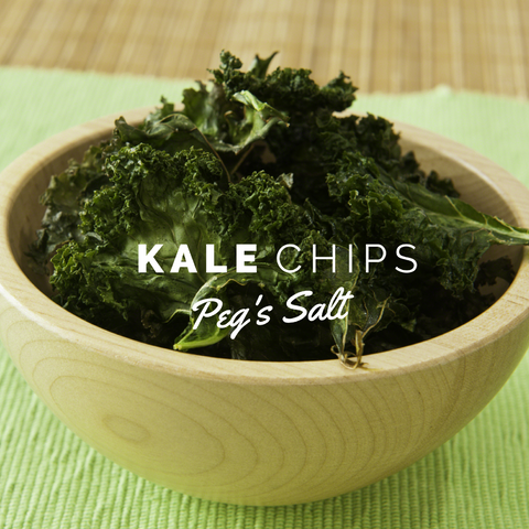 Peg's Salt Kale Chips Recipe
