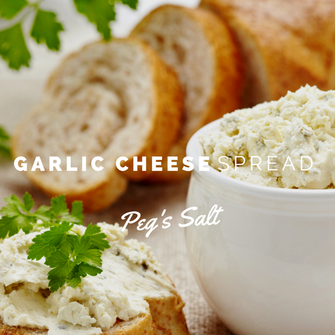 Peg's Salt Garlic Cream Cheese Recipe