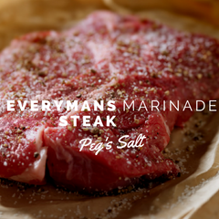 Peg's Salt Everyman's Steak Marinade