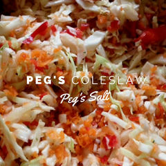 Peg's Salt Coleslaw Recipes