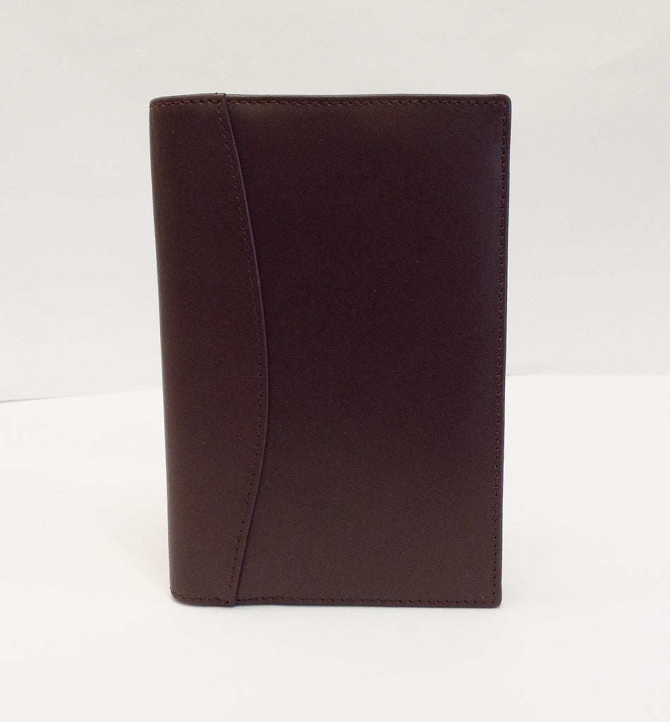 Leather: L8134 Bellino Brown Cover for 5x8 Planner Insert