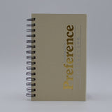 DD85WI DAILY IVORY WIREBOUND PLANNER 5 X 8 PREFERENCE COLLECTION CALENDAR WIRED