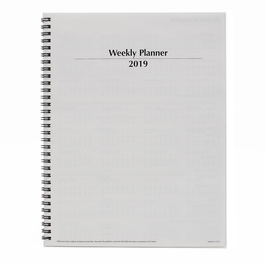 "McCarthy Collection: DM811W 8-1/2"" x 11"" Wirebound Planner"