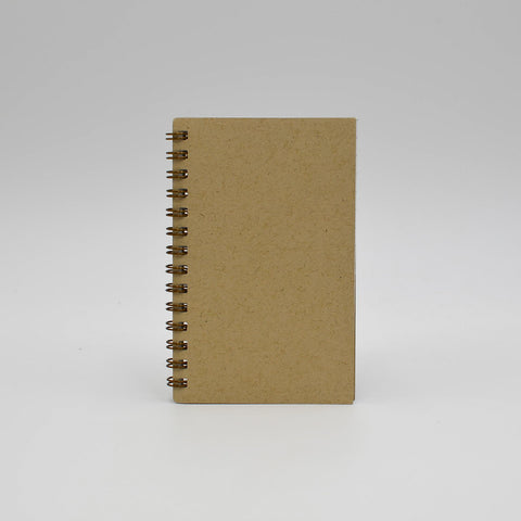 Journal Refill: 1249 Wirebound 3-1/8X5 Journals  Blank or Ruled. Black or Sand cover. 160 pages, white paper.
