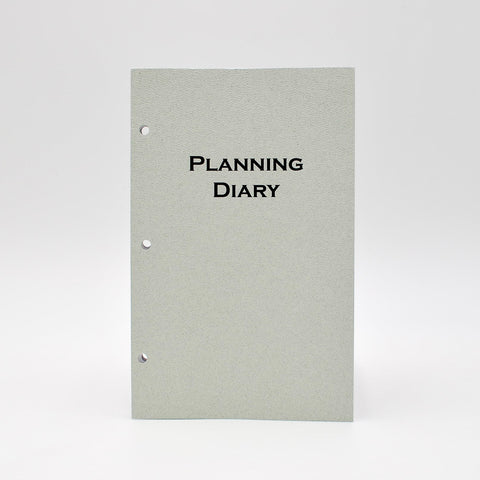 McCarthy Collection: MW58P3 8-1/2 x 5-1/2 3 hole Planner (with supplemental section)