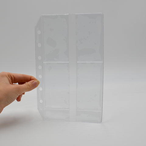 "Business Card Holder: PC85BUS 5-3/8"" x 8-1/2"" 7-hole"