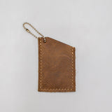 Leather Key-Chain Chapstick Holder