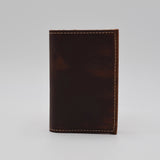 MADE IN THE USA HAND CRAFTED LEATHER 3 X 5 COVER FOR PREFERENCE COLLECTION WIRED WIREBOUND REFILL PD42WI brown