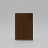 MADE IN THE USA HAND CRAFTED LEATHER 3 X 5 COVER FOR PREFERENCE COLLECTION WIRED WIREBOUND REFILL PD42WI Light brown