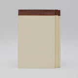 5 X 8 Memo Pads blank ivory note book perforated pages notes sheets